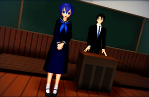 MMD First day in new school... by GoblinZeppelin