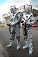 Cybermen British Sci-Fi Weekend NSC 2014 (4) by masimage