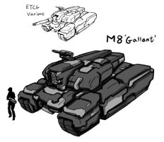American Gallant MBT RG Variant by rooki1