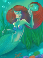 Under the sea by Amaryia
