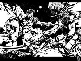 Twart - John Carter of Mars by ronsalas