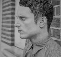 Another Pencildrawing of Elijah Wood by Valyanna8361