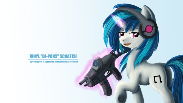 Agent Vinyl Scratch by Ailynd