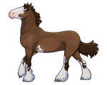 Clydesdale Oh'Air by Ithlini