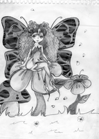 My Faerie Butterfly LOL by Karoiii