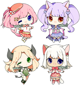 (CLOSED) collab point adopts 6 by waruuii