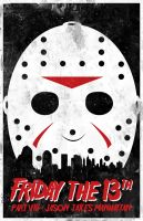 Jason Takes Manhattan poster by billpyle