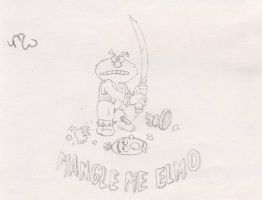 Mangle me Elmos by CaperGirl