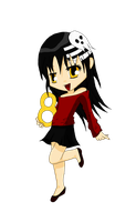 SS Death the Kid Chibi by MelodicSoul