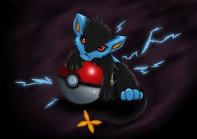 Luxray by Screwy-Soul