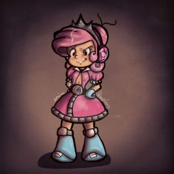 Humanised Comet by LadyIonia