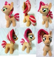Babs Seed plushie, Bad Seed version by Rens-twin