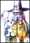 Wizardmon and Gatomon by Leen-galeas