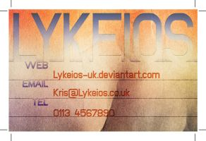 TAD105 - Business Card 05 by Lykeios-UK