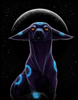 Umbreon by ChihuahuasInTheMist