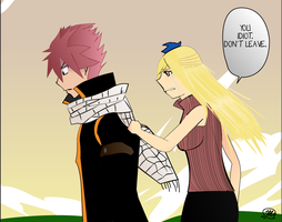 Don't Leave {Nalu} by OmnislashHearts
