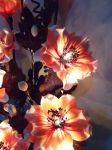 Poppy flowers. Part. Artificial Light Bouquet. by smallparadise