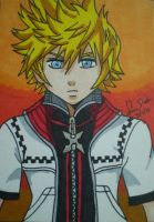Roxas ACEO commission by LadyNin-Chan