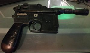 Another View of my Custom Star Wars DL-44 Blaster by SanHolo80
