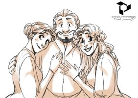 We love our dad by N-A-R-I