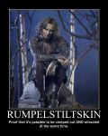 Rumpelstiltskin Demotivational by LaDracul