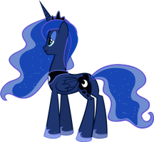 Request: Princess Luna - Waiting by AB-Anarchy