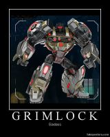 Transformers Fall of Cybertron Grimlock by Onikage108
