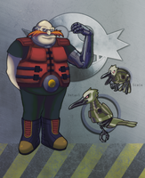 Dr.Robotnik Re-design by Sharper