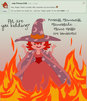 Question 8: Flame On! by Ask-Magic-Princess