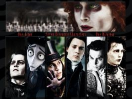Johnny Depp meets Tim Burton by JoyfulArtist21