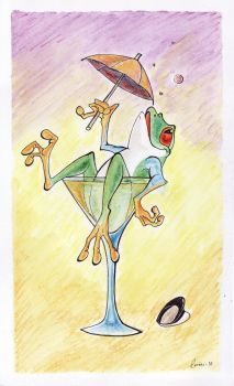Party frog by dorini