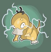 Psyduck by JakeRichmond
