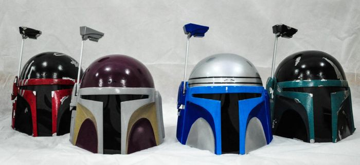Jango Fett and Mando custom made. by ReplicanteCustom