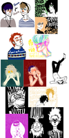 tumblrpoop sketchdump by Dreadelion