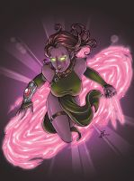 blink colored by verauko by JamieFayX