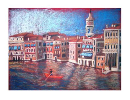 The Grand Canal of Venice by Melindotty
