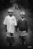 Balinese Kids by ditya