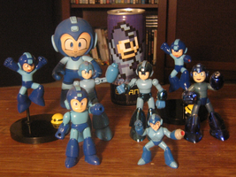 Multi MegaMan Figures by ProfessorMegaman