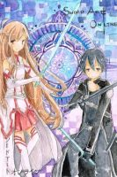 SAO Bookmarks by Shakened