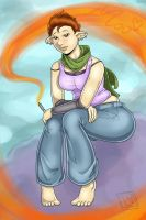 Lilly in the clouds by Lilly-moo