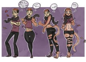 Fur Coat - TG SEQUENCE by Grumpy-TG