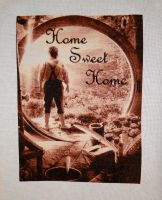 Bilbo Baggins Home Sweet Home by Thriin