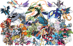 The Mega Pokemon by Tails19950