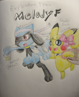 PMD2: Sky Team Melody by Nijihamu-can