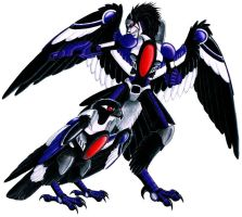 Beast Machines Skywarp Concept by o-WingedPanther-o