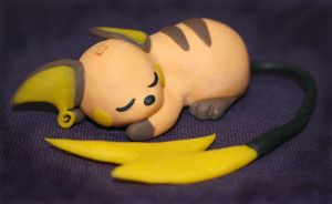 No.26 Raichu by LizArtCrafts