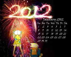 Happy 2012 by BlacklightTrance