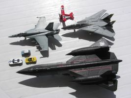 Size Matters - Planes and Cars by BoggeyDan