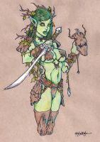 Dryad by dragonfish74