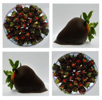 Chocolate Covered Strawberries by StoryofGreen
